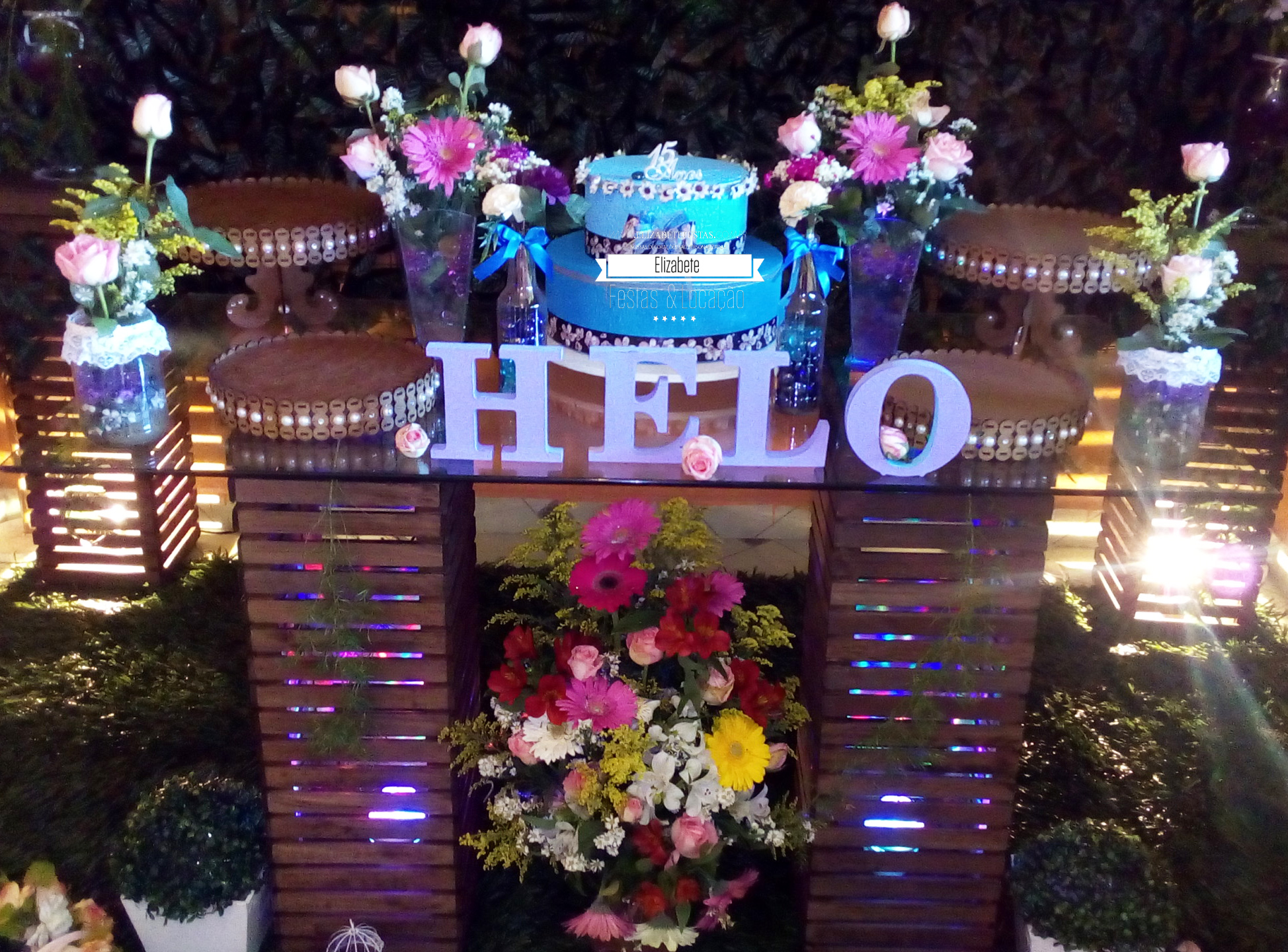 Arquivo de Aniversário de 15 Anos Elizabete Festas Decoraç u00e3o& Locaç u00e3o -> Decoração De Zebra Para Aniversario